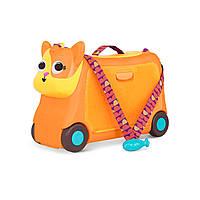 Детский чемодан-каталка Battat для путешествий - Котик-турист (LB1759Z)