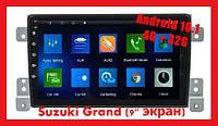Штатная  автомагнитола  Suzuki Grand  2013  Android 10.1,  4/32 Gb,  9'' экран