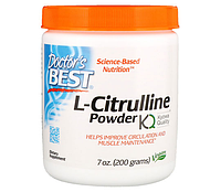 Doctor's Best L-Citrulline 200g EXP 06/20