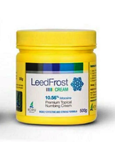 Крем анестетик Leed Frost (Лид Фрост) 500g Лидокаин 10.56%
