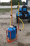 Опрыскиватель 80 литров для мотоблока и мототрактора (1т), фото 3