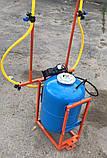 Опрыскиватель 80 литров для мотоблока и мототрактора (1т), фото 2