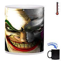 Чашка-хамелеон Маска Джокера 330 мл