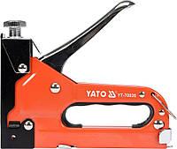 Степлер с регулятором для скоб 53 4-14 мм S 10-12 мм J 10-14 мм Yato YT-70020, фото 1