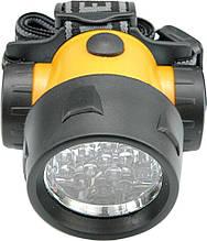 Налобный светодиодный фонарь (17LED) Vorel 88671