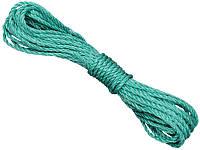 Веревка для белья полипропиленовая ЭВА 3.5 мм X 10 м Virok 86V037