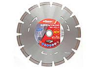 Диск алмазный SUP-BET EVO для бетонного перекрытия и твердых материалов Ø=300x25.4 мм NORTON 70V031