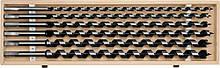 Набор спиральных свёрл 10-20 мм по дереву 460 мм Yato YT-3299