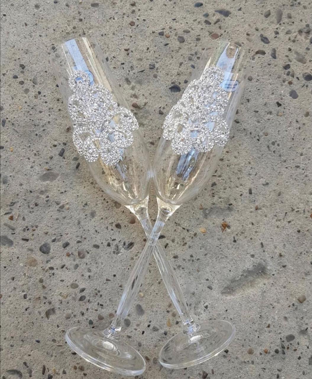 """Свадебные бокалы """"Glass"""""""
