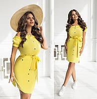 Платье стильное летнее в расцветках 42361