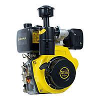 Дизельный двигатель к мотоблоку Кентавр ДВУ-420Д дизельный, под шпонку 25,4 мм, 10,0 л.с.