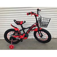 Детский двухколесный велосипед Teroys 605 красный  (от 5 лет)  16 дюймов