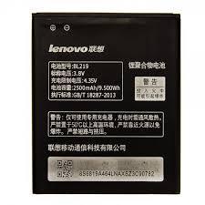 Акумулятор АКБ Lenovo BL219 для Lenovo A880   A889   S856   A916 (Li-ion 3.8 V 2500mAh) Оригінал Китай