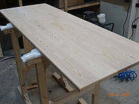 Мебельный щит массив дерева цельноламельный Лиственница 20мм, фото 1