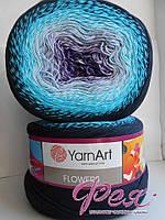 Пряжа ЯрнАрт Фловерс (YrnArt Flowers) № 254