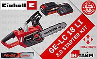 (Power X-Change) Аккумуляторная цепная пила  Einhell GE-LC 18 Li (4501761) 3.0 kit