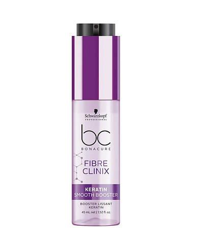 Концентрат для гладкости жестких волос Schwarzkopf BC Fibre Clinix Keratin Smooth Booster 45 мл, фото 2