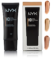 Тональний крем NYX Professional Makeup HD High Definition Foundation (тонами) (№ 2,4,6) | FA35, фото 1