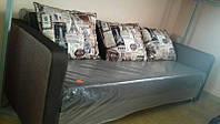 Прямий диван Кама Провентус Лаванда 210x85 см Коричневий, фото 1
