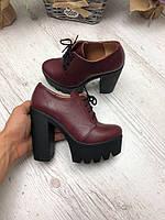 40 р. Туфли женские кожаные, из натуральной кожи, натуральная кожа