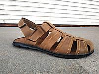 Мужские кожаные сандалии большие размеры 46-50 р-р