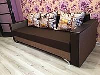 Прямой диван Кама Провентус Мираж 220x85 см Коричневый