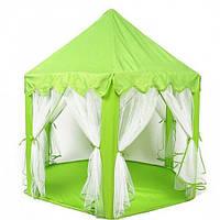 Детская палатка домик- шатер M 3759 салатовая