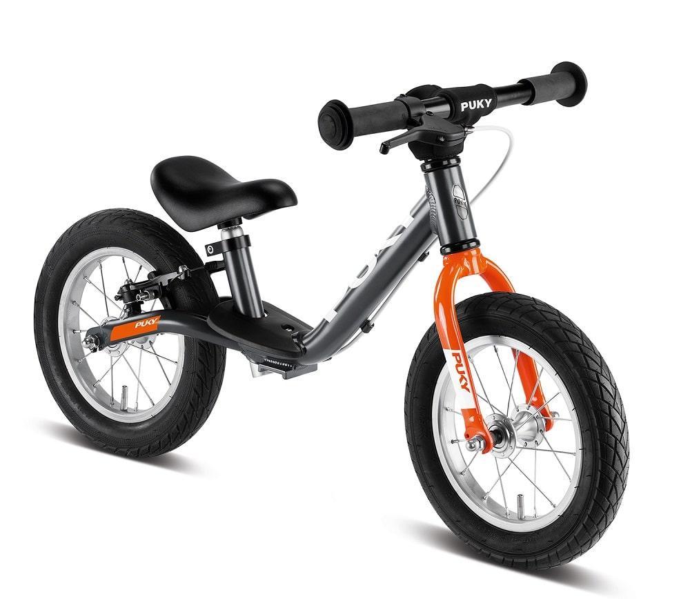 Беговел велобег детский PUKYLR Light BR (Германия), cерый