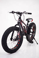 Горный велосипед фэтбайк 20 дюймов S800 HAMMER EXTRIME Черно красный