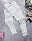 Белые женские джинсы скинни  skinny, фото 5