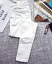 Белые женские джинсы скинни  skinny, фото 6