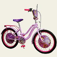 Велосипед двухколесный 20'' для девочекDisney Sofia The First со звонком,зеркалом,без доп.колес