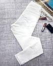 Белые женские джинсы скинни  skinny, фото 7