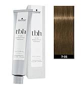 Краска для волос 7-06 N Schwarzkopf TBH Средний блондин натуральный шоколадный 60 мл