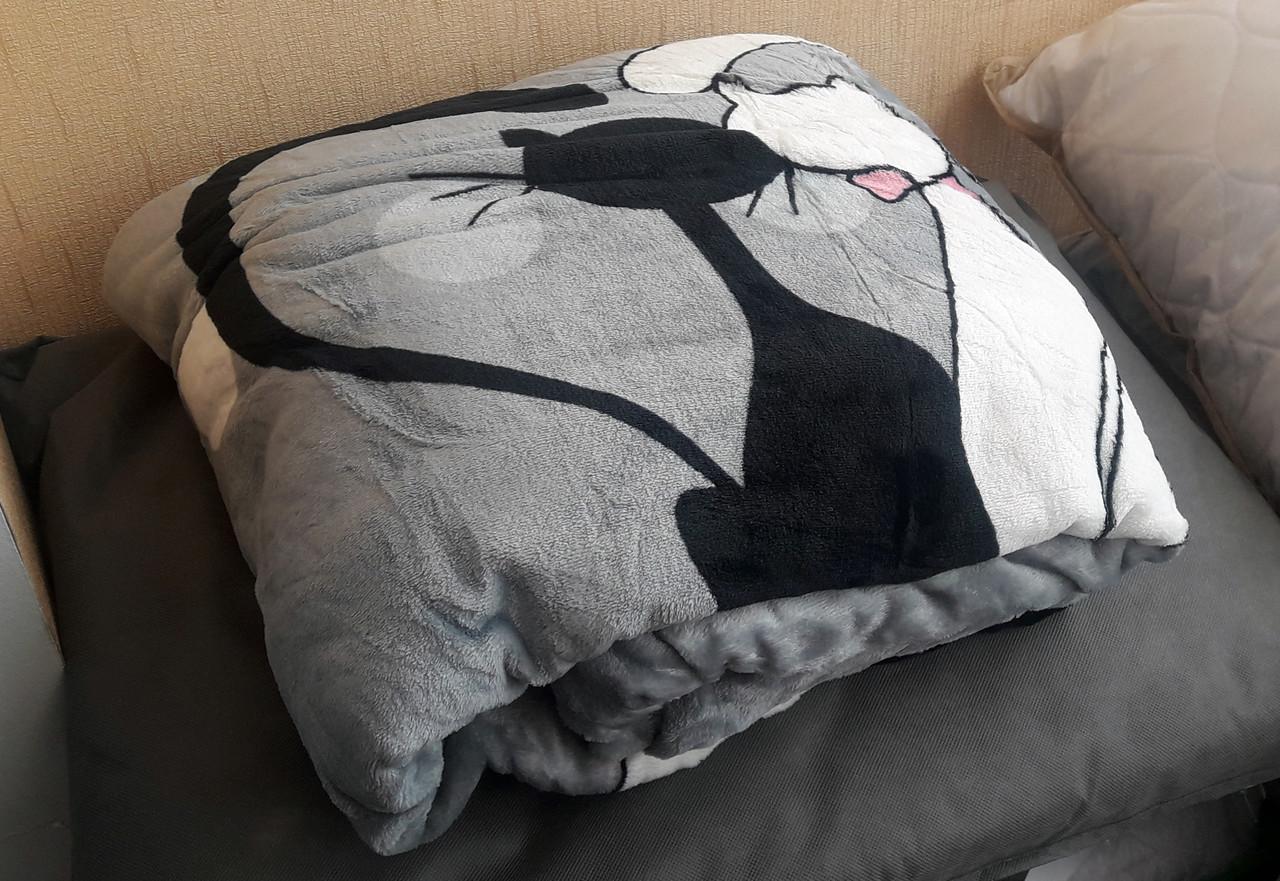 Покрывало на кровать «Коты» - 180х215, СОНЯ ТЕКС