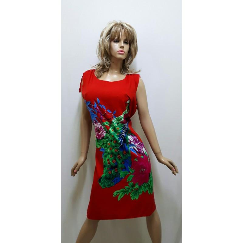Платье штапельное, размер 52-56