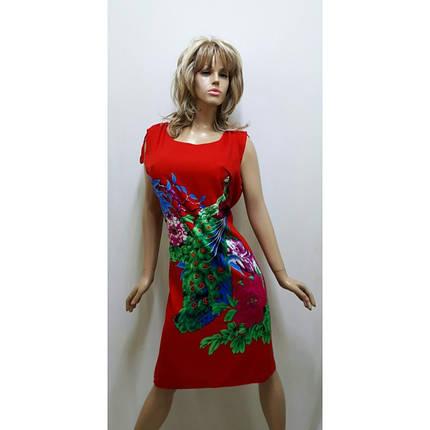 Платье штапельное, размер 52-56, фото 2