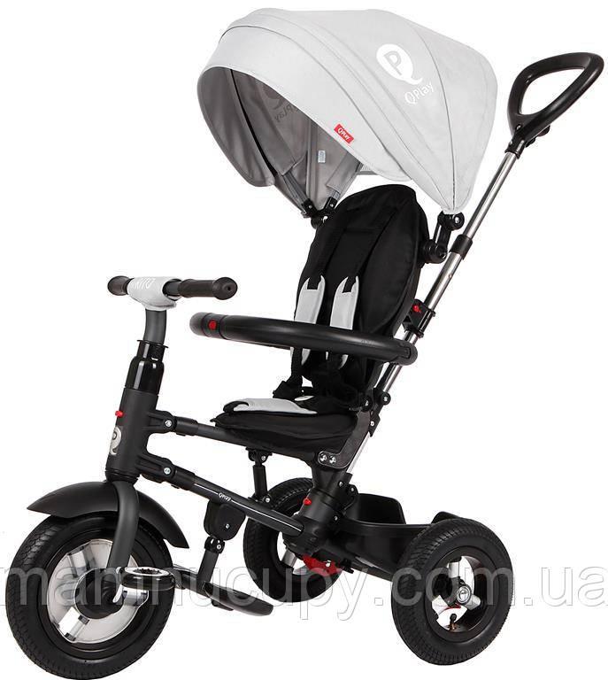 Детский трехколесный велосипед Sun Baby QPlay Rito Air (J01.014.14) серый