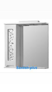 Зеркало для ванной комнаты серии Гламур 70 см левое и правое