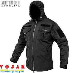 Куртка тактическая (ANTITERROR II) Мембрана Black