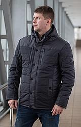 Демисезонная мужская куртка модная размеры 48-58