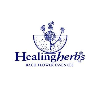 Логотип производителя цветов Баха Healing Herbs