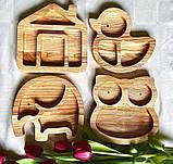 Деревянная менажница утка, фото 2