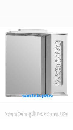 Зеркало для ванной комнаты серии Гламур 60 см левое и правое, фото 2