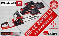 Аккумуляторная бесщеточная цепная пила Einhell GE-LC 36/35 Li 3.0 kit