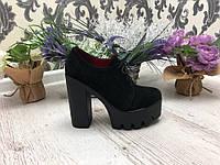 39 р. Туфлі жіночі замшеві, з натуральної замші, натуральна замша