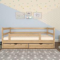 """Детская кровать с бортиками """"Тёма""""."""