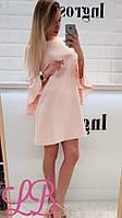 """Женское платье с бантом на спинке от производителя TM """"Lady Butik"""""""