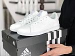 Жіночі кросівки Adidas Stan Smith (білі) 9081, фото 2