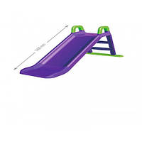Горка для катания 140 см  ФЛАМИНГО фиолетовая